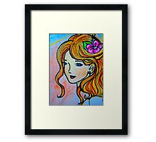 Pricilla Framed Print