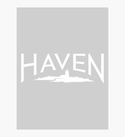 Haven Maine Syfy Logo Photographic Print