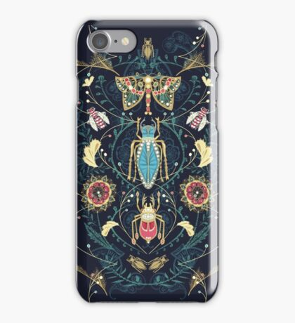 Glorious Bug Brooches iPhone Case/Skin