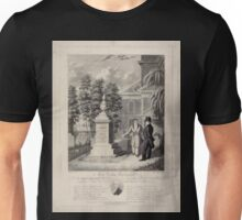 534 The Actor's Monument the late Edmund Kean Esqre contemplating the tomb he caused to be erected to the memory of George Frederick Cooke in Saint Paul's Church Yard Unisex T-Shirt