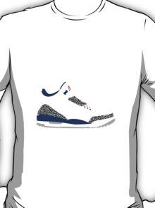 AIR JORDAN III (3) TRUE BLUE T-Shirt