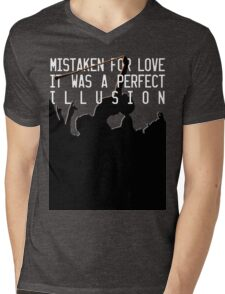 Mistaken for Love // Perfect Illusion // Lady Gaga Mens V-Neck T-Shirt