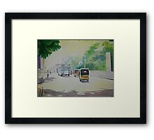Auto - Indian Taxi Framed Print