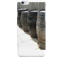 Whiskey Barrels iPhone Case/Skin