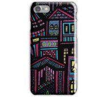 Pastel city iPhone Case/Skin