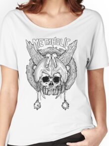 Metaholic Tshirt Light Women's Relaxed Fit T-Shirt