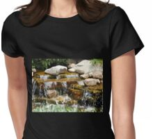 THE BABBLING BROOK Womens Fitted T-Shirt