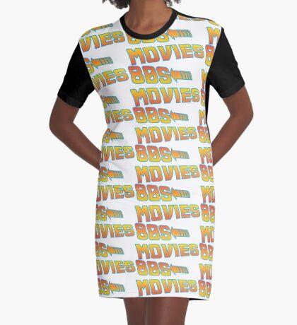 Movie inspired 80's Movies Graphic T-Shirt Dress