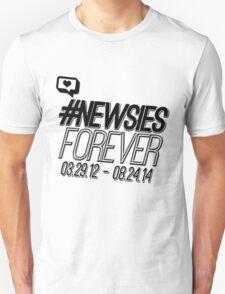 #newsiesforever (USA date format version) T-Shirt