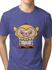 Magi Orange Pants Tri-blend T-Shirt