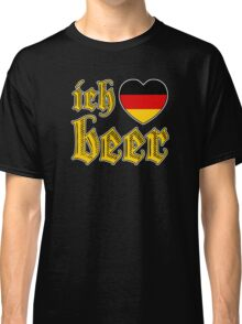 Ich Liebe Beer I Love Beer Classic T-Shirt