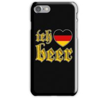 Ich Liebe Beer I Love Beer iPhone Case/Skin