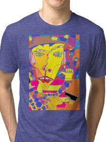 Scribble The Digital Tri-blend T-Shirt