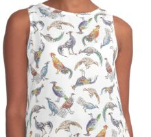 Pheasants of the World with Peafowl and Jungle Fowl Contrast Tank