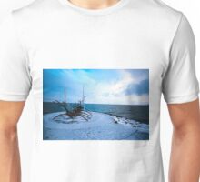 Looking beyond the Western shore Unisex T-Shirt