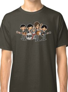 the beatles (outline) Classic T-Shirt