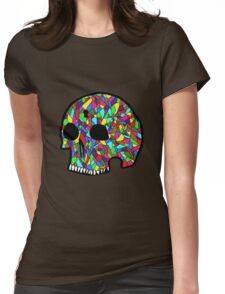 The Locked Skull Womens Fitted T-Shirt