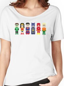 8-Bit Super Heroes 3: The Other Guys Women's Relaxed Fit T-Shirt
