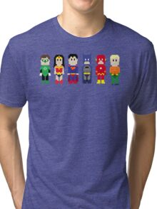 8-Bit Super Heroes 3: The Other Guys Tri-blend T-Shirt
