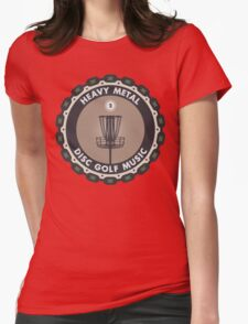 Disc Golf Chains Womens Fitted T-Shirt