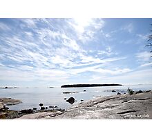 A Lake In Finland Photographic Print