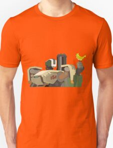 The Peacefull Bastion Unisex T-Shirt