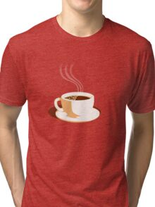 The Perfect Cup Of Coffee Tri-blend T-Shirt
