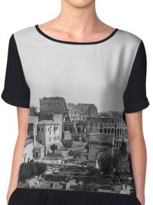 Rome, Italy Chiffon Top