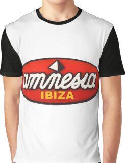 Amnesia Ibiza Original Logos Graphic T-Shirt
