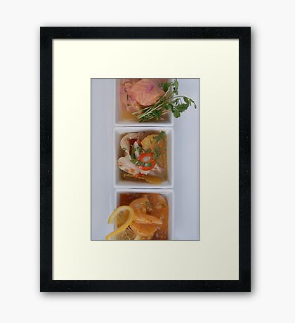 Ceviche Framed Print