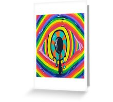 Throw away your vision. Greeting Card