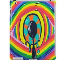 Throw away your vision. iPad Case/Skin