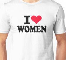 I love women Unisex T-Shirt