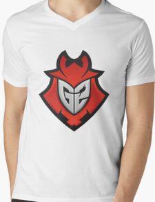 G2 Kinguin Mens V-Neck T-Shirt