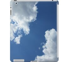 Clouds in the Blue Sky iPad Case/Skin