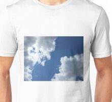 Clouds in the Blue Sky Unisex T-Shirt