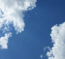Clouds in the Blue Sky Sticker