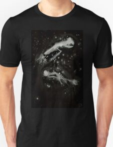 0108 - Brush and Ink - All Hallows Flight and Storm Unisex T-Shirt