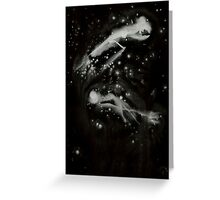0108 - Brush and Ink - All Hallows Flight and Storm Greeting Card