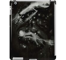 0108 - Brush and Ink - All Hallows Flight and Storm iPad Case/Skin
