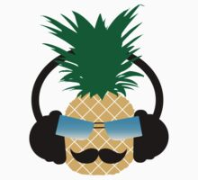 Funny pineapple lover music One Piece - Short Sleeve