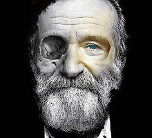 Robin Williams  by FancyRobot