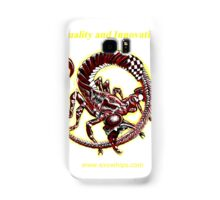 red emperor exowhips scorpion Samsung Galaxy Case/Skin