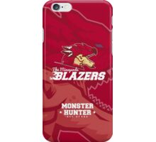 Monster Hunter All Stars - The Minegarde Blazers iPhone Case/Skin