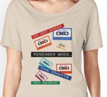 Remember When ... Retro Dymo Label Women's Relaxed Fit T-Shirt