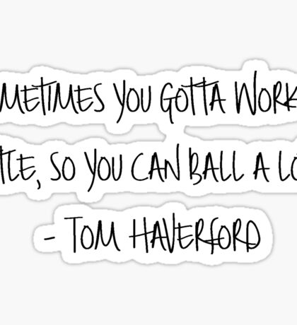 Tom Haverford  Sticker