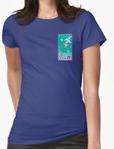 Take to the Sky Womens Fitted T-Shirt