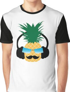 Funny pineapple lover music Graphic T-Shirt
