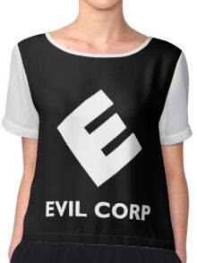 Mr. Robot Evil Corp Chiffon Top