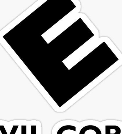 Mr. Robot Evil Corp Sticker